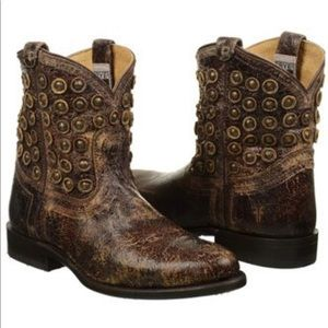 Frye Wyatt disc short boot